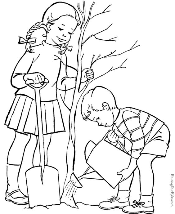 Earth Day 2019 Coloring Pages