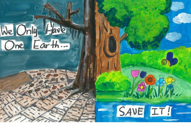 Save Earth Posters for Kids