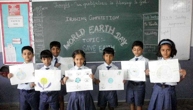 Earth Day Celebrations at School