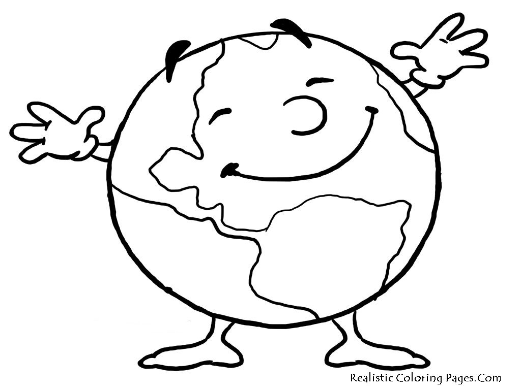 Coloring pages earth day - Save The Earth Coloring Pages