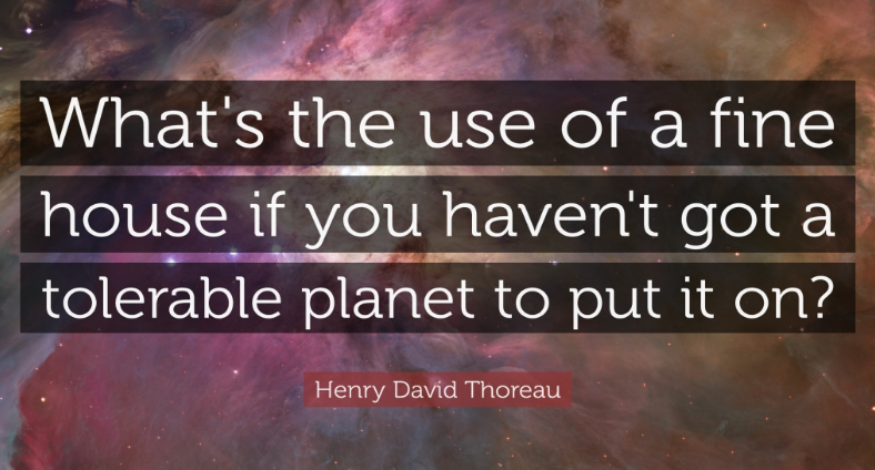 Earth Day Quotes by Henry David Thoreau