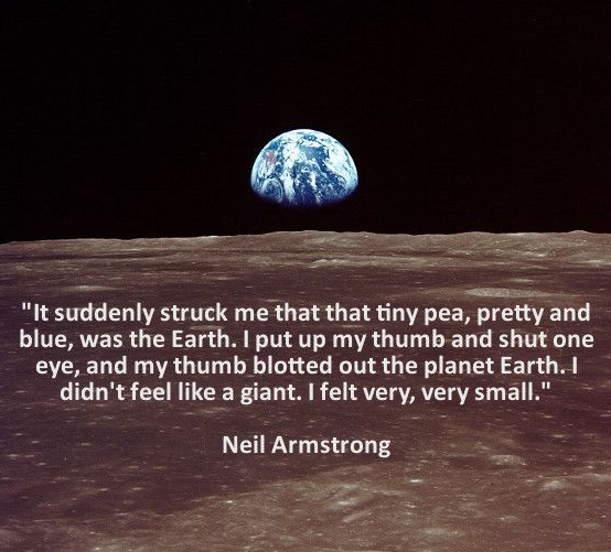 Earth Day Quotes in English by Neil Armstrong