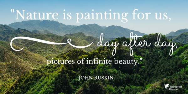 Earth Day Quotes by John Ruskin