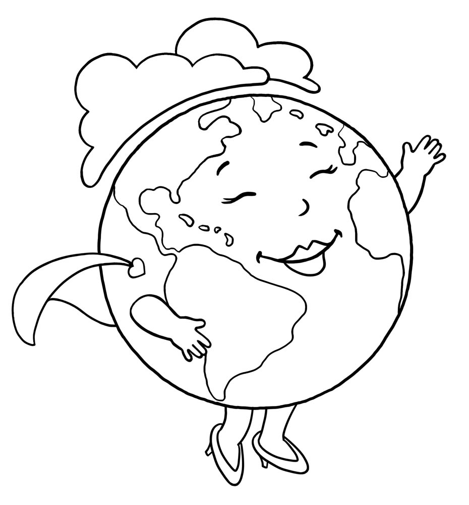 Planet #50 (Nature) – Printable coloring pages | 1000x930