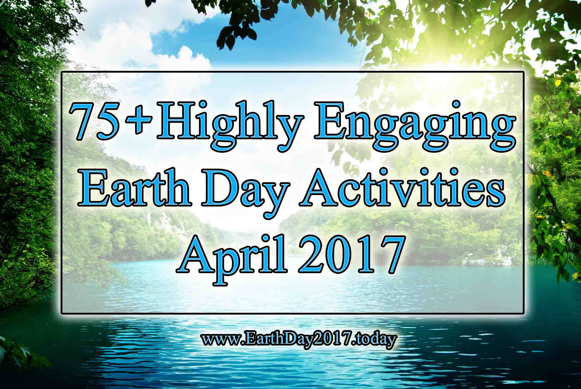 Earth Day Activities 2017