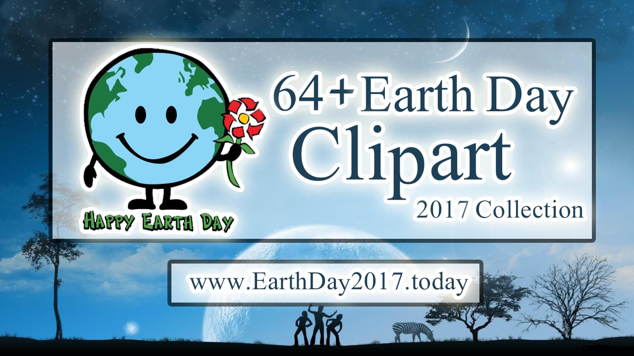 64+ Earth Day Clipart for Kids and All