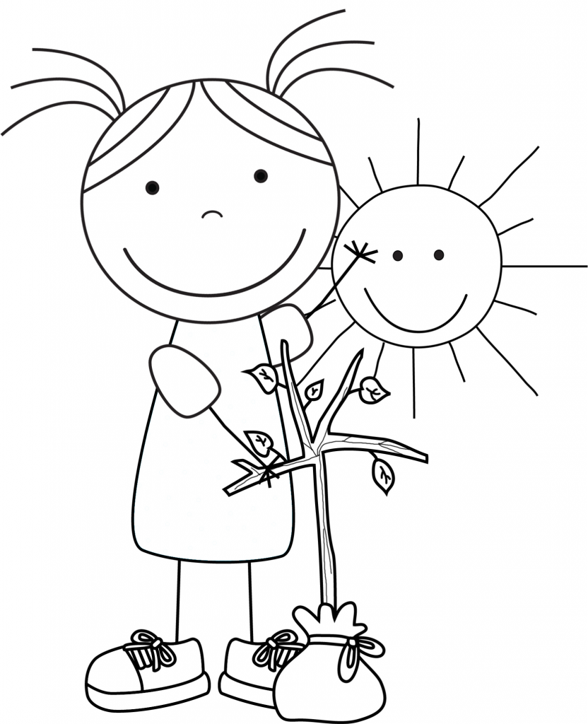 save the earth coloring pages