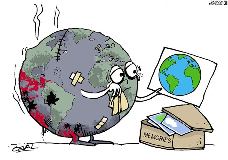 Sad Earth Day Clipart